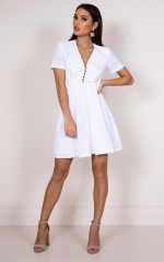 Daisy Jane dress in white