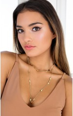 Coming Around necklace in gold