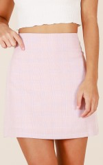Portia skirt in pink