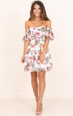 Rhapsody Dress in Blush Floral