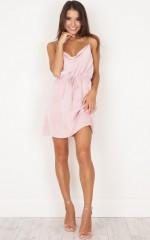 Rialto Dress in Blush