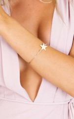 Rising Star bracelet in gold