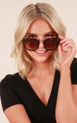 Romeo sunglasses in tortoiseshell