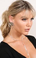 Signals Earrings in silver