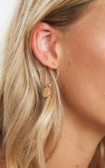 Siren Song earrings in gold