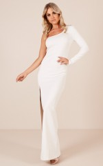 Blazing Star maxi dress in white