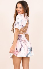 Sweetly Yours dress in pink floral