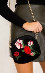 Solo Purse in black