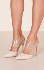 Billini - Thea in nude suede