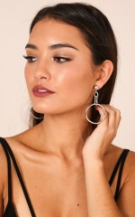 Think About You earrings in silver