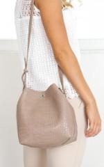 Sophistication Bag in mocha