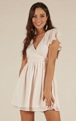 Morning Sunshine dress in blush