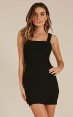 Record Breaker dress in black