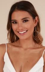 Shining Bright earrings in gold