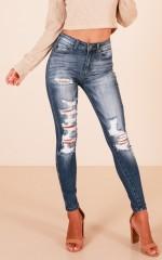Jules skinny jeans in medium wash