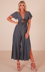 Knock On Wood jumpsuit in indigo
