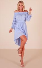 Sweet Days dress in blue