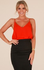 Merger Top in Red