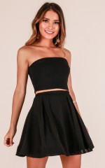 Moment In Time skirt in black