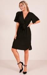 Top Notch dress in black