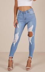 Margot jeans in light wash