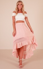 Keep My Secret skirt in blush