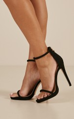 Billini - Damita Heels in Black Micro