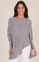 Nothing To Hide knit in grey