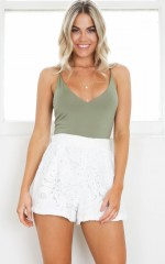 Margaritaville shorts in white