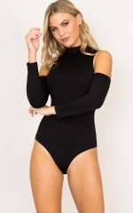 Bronte bodysuit in black