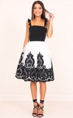 A Great Romance skirt in white
