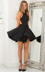 Sparks Flying dress in black