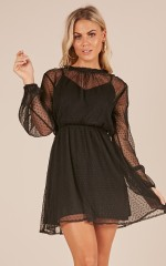 Bad Romance dress in black