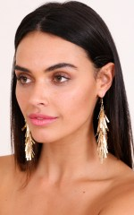Good As Gold earrings in gold