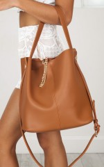 Great Day Bag in tan