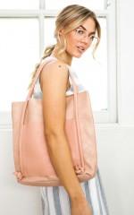 Goal Digger bag in pink