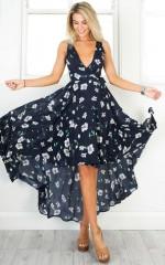 Ocean Avenue dress in navy floral