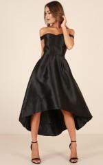 Quiet Storm dress in black