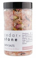 Cedar and Stone - Rose and Ylang Ylang Bath Salts