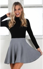 Real Deal skirt in grey