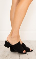 Billini-Tori in black suede