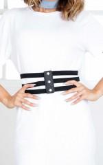 Unstoppable belt in black