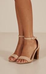 Billini - Aurella Heels in nude nubuck