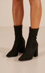 Therapy - Bowie Boots in black