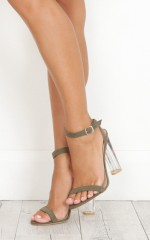 Billini - Fifi in khaki suede