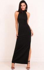 Soul mates Maxi Dress in Black