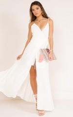 Thousand Lives maxi dress in white