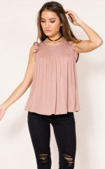 Trust In Time top in mocha