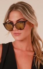 Space For Us sunglasses in tortoiseshell