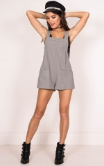 What We Got playsuit in khaki